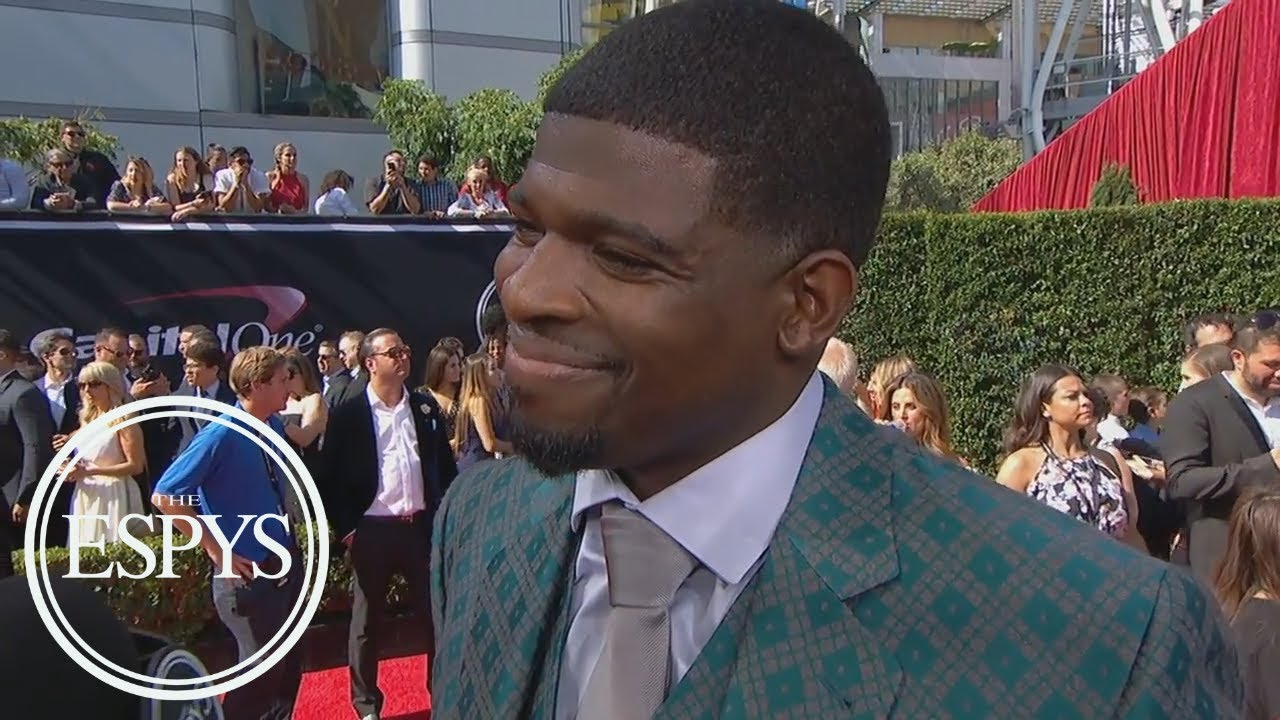 64a748dd4fa Hannah Storm s Interview of P.K. Subban At the ESPYs Made For One ...